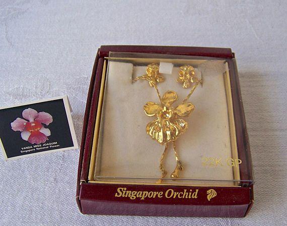 orchid-flower-jewllery